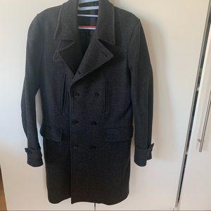 Theory Men Wool Coat